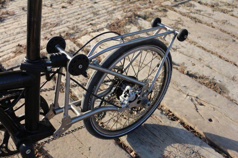 Brompton Titan Custom Made Ersatzteile von Vostok Bike